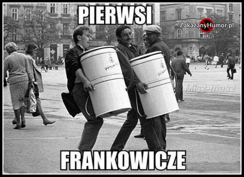 Pierwsi frankowicze