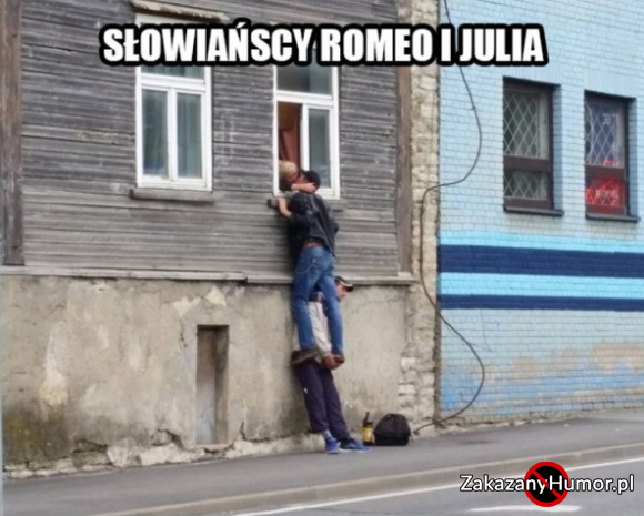 Słowiańscy Romek i Julka
