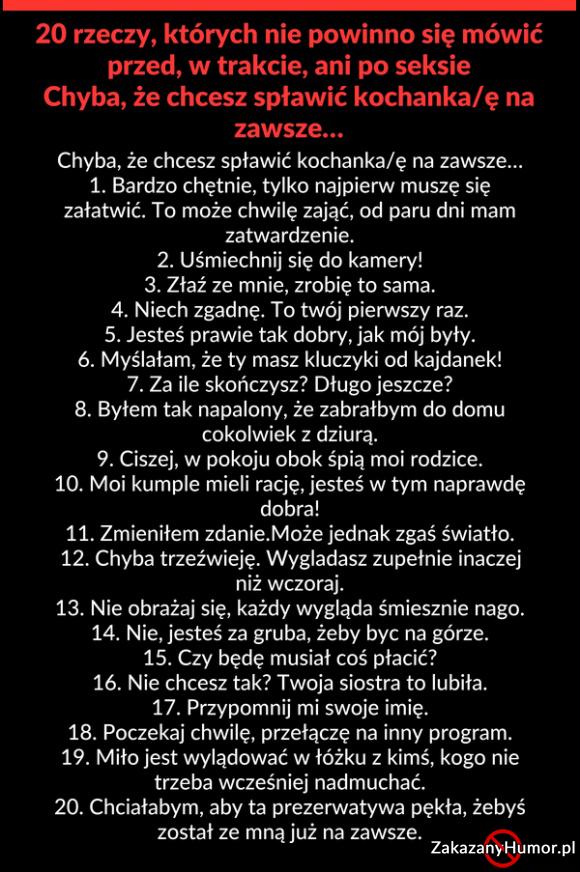 20 rzeczy
