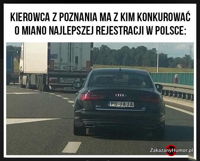 Kierowca z Poznania