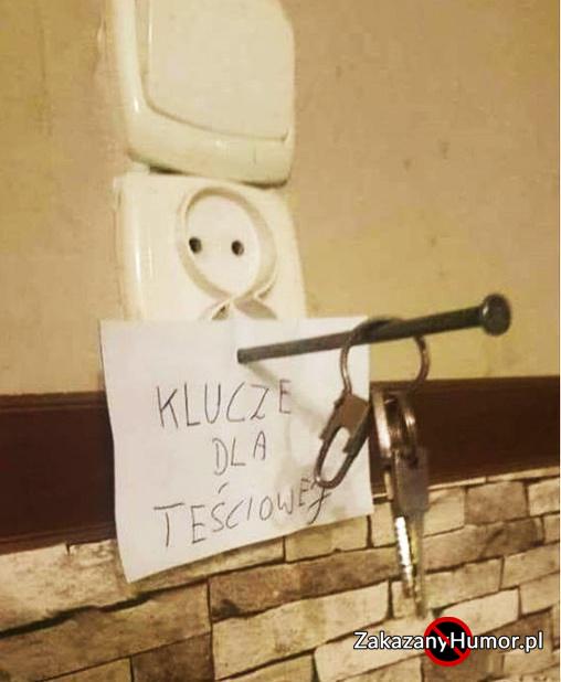Klucze dla Teściowej