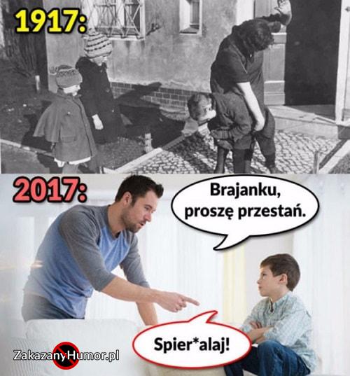 Czasy się zmieniły