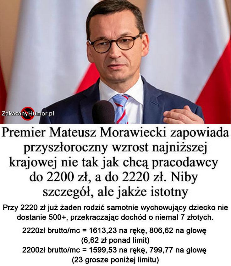premier-morawiecki-zapowiada-wzrost-najnizszej-krajowej-do-2200zl-zaden-samotnie-wychowujacy-rodzic-nie-dostanie-500-plus