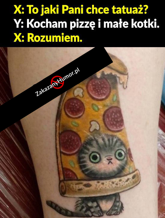 Pizza-i-kotki-ten-tatuaż-wymiata